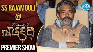 SS Rajamouli At Gautamiputra Satakarni Premiere Show || #Balakrisha || #Krish - IDREAMMOVIES