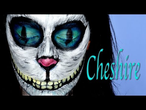 Tutorial Maquillaje Cheshire Gato Alicia en el País de las Maravillas | Silvia Quiros