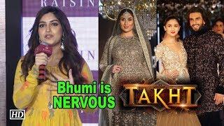 "Bhumi is so NERVOUS to work with Kareena, Ranveer in ""TAKHT"" - IANSINDIA"