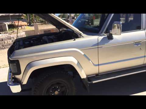 1988 Toyota Land Cruiser HJ61 with 12H-T turbo diesel For S