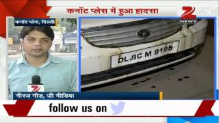 Connaught Place car accident: Two injured, one dead - ZEENEWS