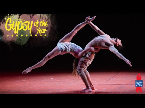 High-Flying Pippin Acrobats at Gypsy of the Year 2014
