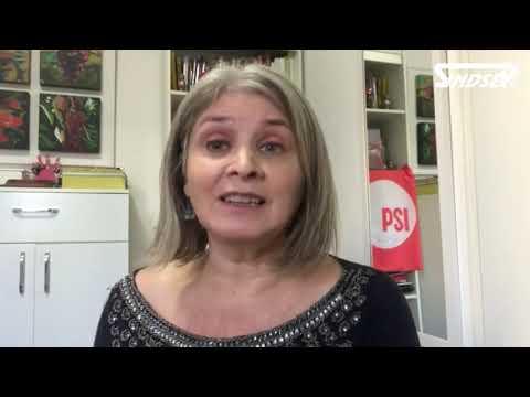 Denise Mota Dau, da ISP Brasil, em apoio à Greve na Educação