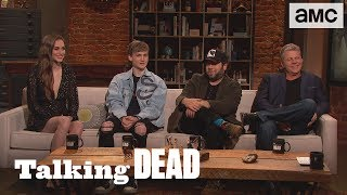 'Similarities Between Michonne's Group & Luke's Group' Bonus Scene Ep. 907 | Talking Dead - AMC