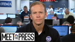 Full Brock Long: Puerto Rico Deaths 'The Numbers Are All Over The Place' | Meet The Press | NBC News - NBCNEWS