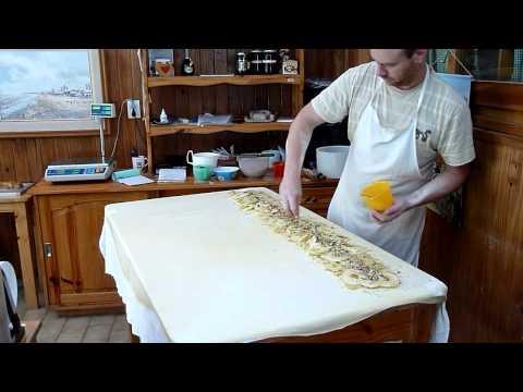 Strudel - elaboracion artesanal Reposteria Hans El