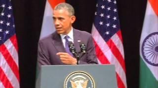27 Jan, 2015 - In parting shot, Obama prods India on religious freedom - ANIINDIAFILE