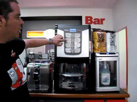 Saeco Phedra Espresso coffee machine with Cappuccinatore.wmv
