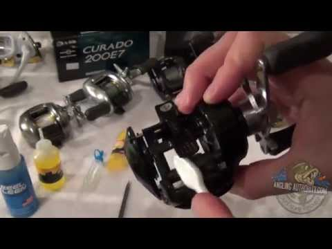 Shimano Baitcaster Reel Maintenance Tutorial