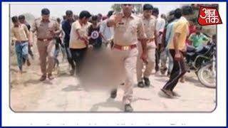UP Police का माफीनामा ! पुलिसवालों के सामने भीड़ ने Qasim को उतारा मौत के घाट - AAJTAKTV