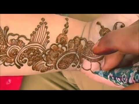 Best Indian Arabic Henna Mehndi Design For Hand/Eid Mehendi 2014