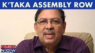 Karnataka Assembly Menace: Santosh Hegde, Former Karnataka Lokayukta Speaks With Times NOW - TIMESNOWONLINE