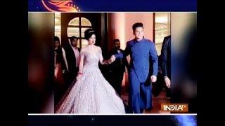 Have a look at Yuvika Chaudhary and Prince Narula's grand wedding reception - INDIATV