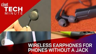 Wireless earphones for phones without a jack - CNETTV