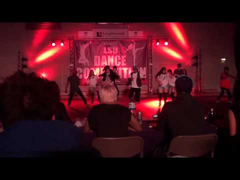 Loughborough Dance Competition 2012 - Rawkus - advanced hip hop