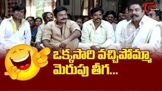 ఒక్కసారి వచ్చిపోమ్మా మెరుపుతీగ..| Brahmanandam Telugu Movie Comedy Scenes | TeluguOne - TELUGUONE