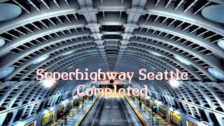 Royalty Free Superhighway Seattle Completed:Superhighway Seattle Completed