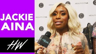 JACKIE ANIA Wears Her Backup Outfit to Beautycon and Talks Meeting AMARA LA NEGRA - HOLLYWIRETV