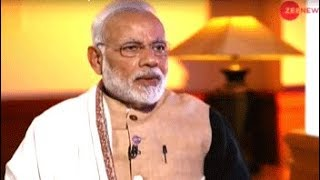 Watch Zee News Exclusive: Sudhir Chaudhary interviews Prime Minister Narendra Modi - ZEENEWS