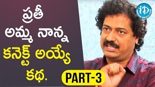 Writer & Director Satish Vegesna Interview Part #3 || Talking Movies With iDream - IDREAMMOVIES