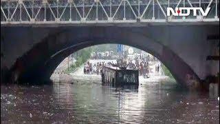 अब नहीं डूबेंगी मिंटो रोड पर बसें, दिल्ली जल बोर्ड ने की कार्रवाई - NDTVINDIA