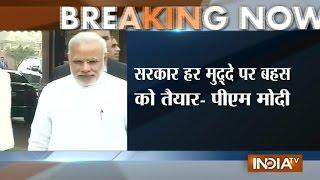 PM Narendra Modi hopes for productive Winter Session of Parliament - INDIATV