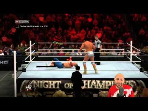 WWE 2K15 (Xbox 360) - John Cena vs Alberto Del Rio