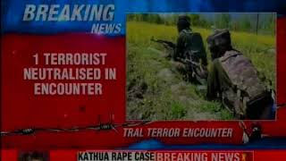Tral terror encounter: 2 security personnel martyred; operation still on - NEWSXLIVE
