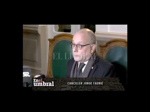 ENTREVISTA CON EL CANCILLER JORGE FAURIER