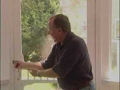 Fix a Sagging Screen Door