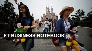 Disney theme park opens in Shanghai I FT Business Notebook - FINANCIALTIMESVIDEOS