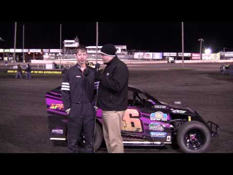 Bryan Zehm - Mod Lite Feature Winner at Boone Speedway 4/20/13