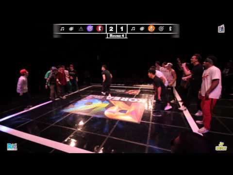 Jinjo vs Massive Monkees R16 Korea 2012 World Finals Bboy Crew Semi Final