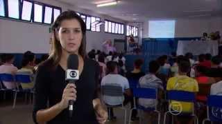 Tv Globo Nordeste destaca Projeto Plenário Escola da Câmara