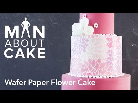 (man about) Wafer Paper Flowers | Man About Cake