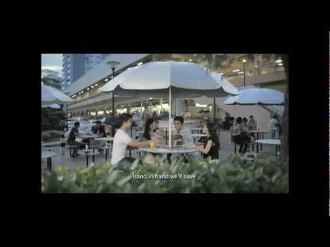 Clean and Green Singapore 2012 theme song - World Without Fences (90sec)