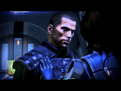 Mass Effect 3 romance scene - Ashley Williams *NO SPOILERS* [HD]