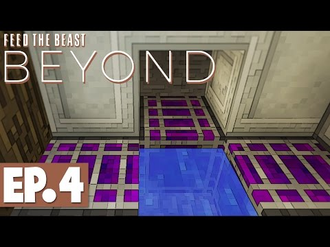 FTB Beyond - Growth Acceleration, Crafting Terminal & Jetpacks! #4 [Modded Survival]