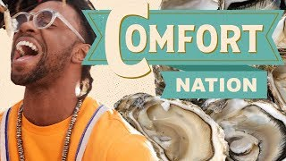 Traditional Gullah Oyster Roast 🌊COMFORT NATION - FOODNETWORKTV