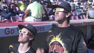 Baseball Hits an Eclipse - NASAEXPLORER
