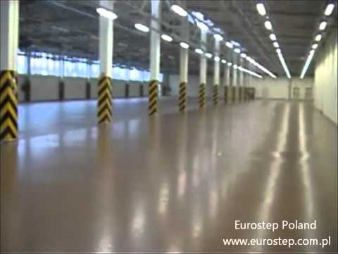 Installation of epoxy floor