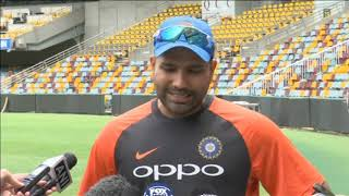 19 Nov, 2018: India prepared for extra pace and bounce in Australia – Rohit - ANIINDIAFILE