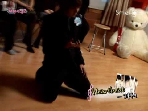 Lee Chihoon dancing Heartbeat