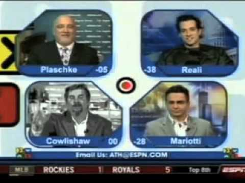 Around the Horn - April Fools Day 2009 - Woody Paige Hosts