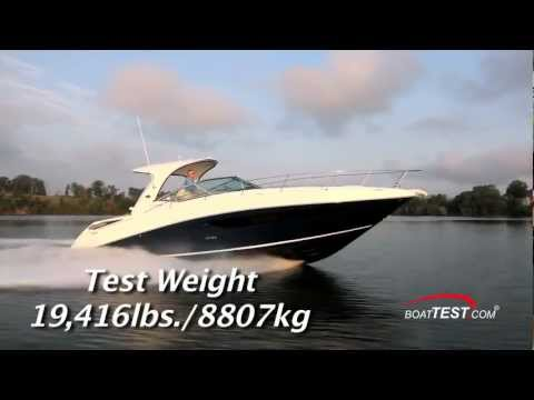 Sea Ray 370 Sundancer Test 2013- By BoatTest.com