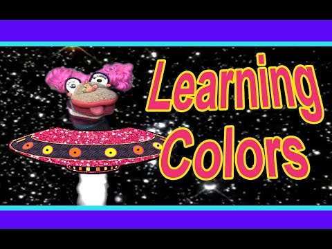 Learning Colors for Toddlers and Children with Peggy