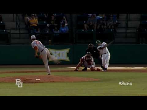 Baylor Baseball: Highlights vs Texas (Thur)