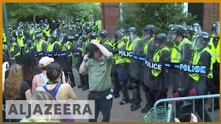 🇺🇸 Anti-racists to counter 'Unite the Right 2' in DC | Al Jazeera English - ALJAZEERAENGLISH