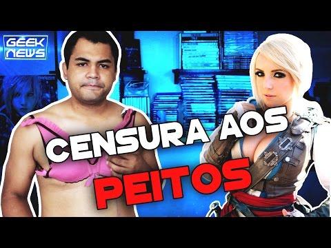 PEITOS CENSURADOS NO TWITCH - Geek News   Platina
