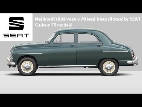 Autoperiskop.cz  – Výjimečný pohled na auta - Nejikoničtější vozy v 70leté historii značky SEAT